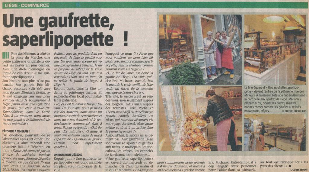 Coupure de Presse 7Dimanche