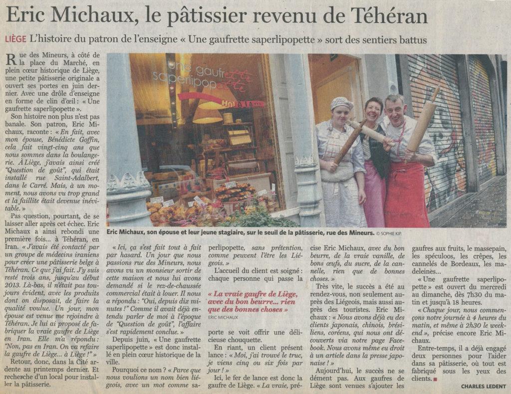 Coupure de Presse Le_Soir